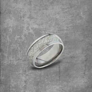 Anniversary Gift:Wedding Ring|Silver Ring|Tungsten